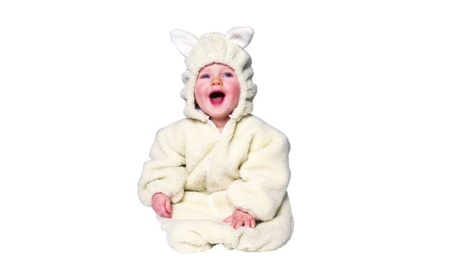 Pottery Barn Kids Baby Lamb Costume 6-12 Months NWT Easter Play Sheep Animal