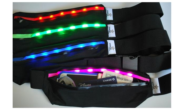 LED Light Running Belt