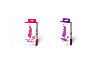VeDo Crazzy Bunny Rechargeable Silicone Bullet 10 Vibration Modes 80d6c86a-be81-44e1-a3b7-c0d8a241a2bc