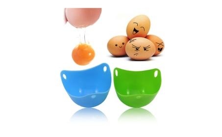 4x Silicone Egg Poacher Cook Poach Pods Cookware Poached Baking Cup 874a3e3a-a4c1-4ebf-bdfc-3e732db1797c