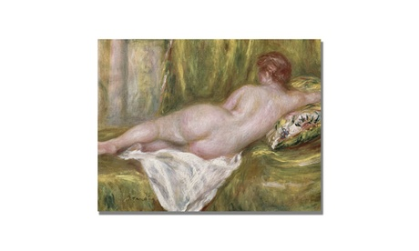 Pierre Renoir 'Reclining Nude from the Back' Canvas Art 97a9da13-624f-47d6-8405-c6b4cb394462