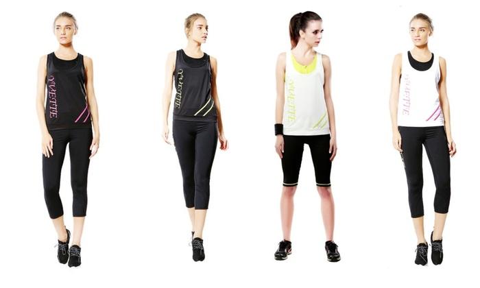 Yvette 8033 Women's Multi-Sport Singlet Tank Top Running Vest