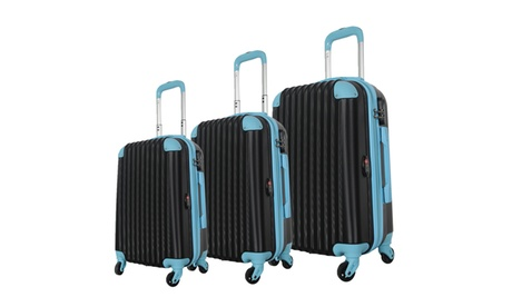 Brio Luggage Hard-Side Spinner Luggage Set (3-Piece) b49602bb-89b0-45ee-b470-67b0aa829e71