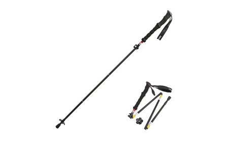 WEANAS Aluminum Portable Collapsible Trekking Pole Hiking Stick 94a8c4eb-aceb-441f-be60-0a6ae8fae6d4