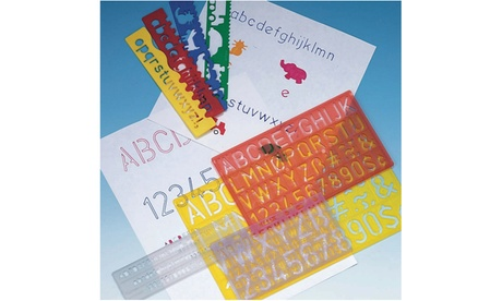Lettering Guide Pack (set of 4) d30b9ab0-ab76-4385-b286-730a2aa8bf22