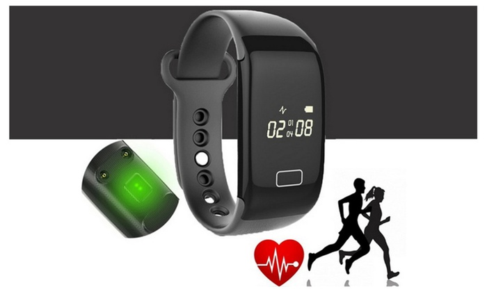 JW018 Smart Bracelet with Display Heart Rate Monitor Call ID
