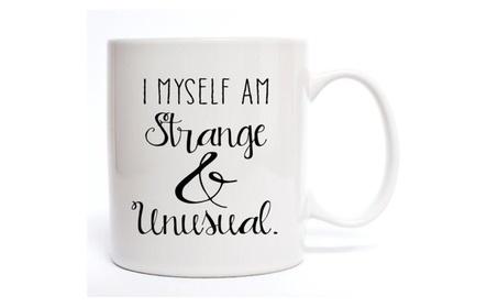 I Myself Am Strange & Unusual Coffee Mug 49619130-8c00-4ea9-95f5-1a5fbe1e8482