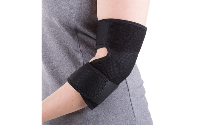 Adjustable neoprene elbow support by bluestone groupon