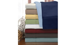 1200TC 100% Egyptian Cotton Solid Sheet Set
