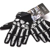 Full Finger with Skeleton Zombie Cycling Black Gloves Touch Screen