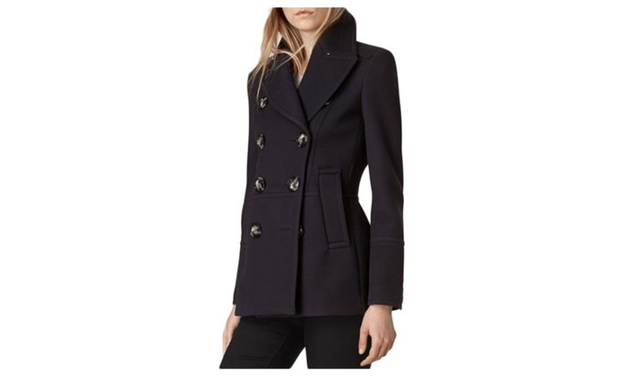 Women's Simple Buttons Up Casual Long Sleeve Nylon Jacket
