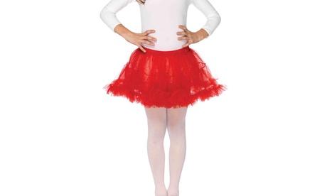 Leg Avenue Girls Tulle Petticoat Cute Halloween Costume Skirt For Kids