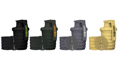 Grenade Shaker Cup with Storage Compartment 086a6595-2fdc-4b06-a368-2df1d9de7952