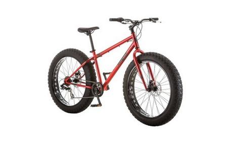 "26"" Mongoose Hitch Men's All-Terrain Fat Tire Bike, Red 74e928ee-63f8-4863-8bb6-c91f63728a2a"