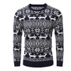 Men's fashion Santa elk leisure with thick sweater