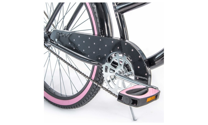 """Huffy 26/"""" Cranbrook Women/'s Cruiser Bike with Perfect Fit Frame Black Brand New"""