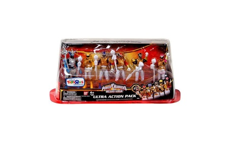Power Rangers Megaforce Ultra Action Pack 6 Figure Set Ultra Mode 6e23ec6d-c37d-47a3-a515-53b51462e1ac