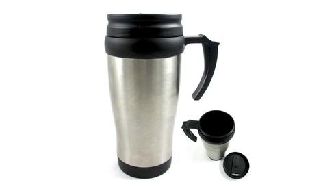 Stainless Steel Insulated Double Wall Travel Coffee Mug Cup 16 Oz e7b9744b-050e-4cf2-9865-10029ced8c87