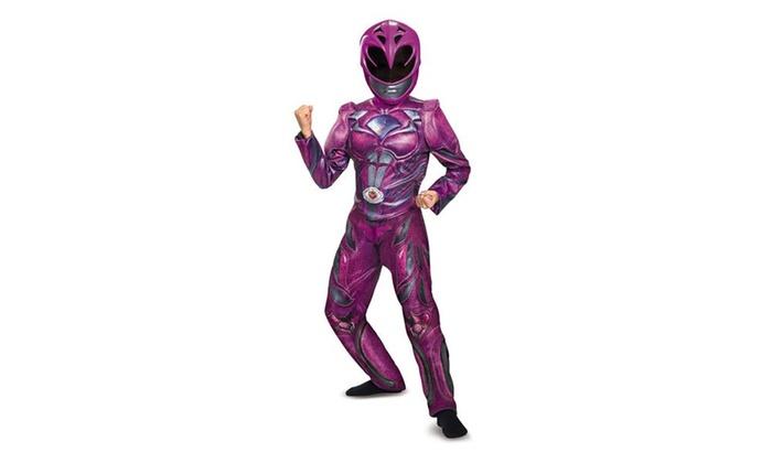 Power Rangers:  Pink Ranger Deluxe Child Costume