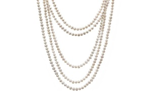 Symbol of Royalty For Mom Fresh Water Pearls Necklace