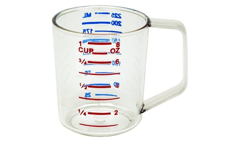 Rubbermaid Commercial Products 3210CLE Bouncer Measuring Cup, 8 oz. - 04360a33-25ea-44ee-9c1c-880330cf1d73