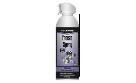 MAX Professional Blow Off Freeze Spray Electronic Component Cooler