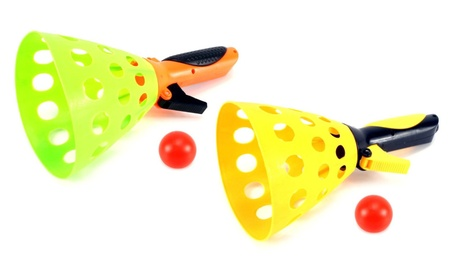 Launch & Catch Children's Novelty Toy Ball Catching Game Play Set 385a8136-639d-454c-b0c6-230d4f6e33eb