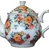 Antique Rose Teapot