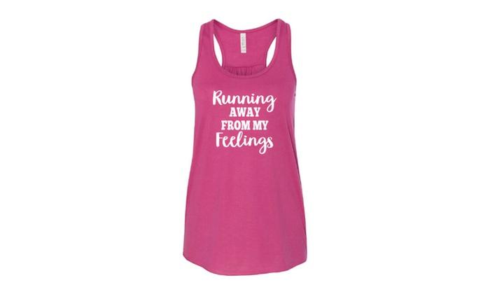 Running Away From My Feelings Women's Tank