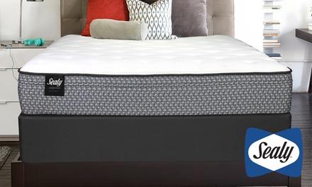 Sealy Essentials Cushion Firm (Medium) or Plush Euro Top Mattress Set
