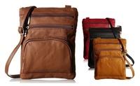 Super Soft Leather Crossbody Bag (Multi Color)