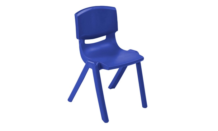 "Clickhere2shop: ECR4Kids 10"" Resin School Stack Chair, 6 Pack"