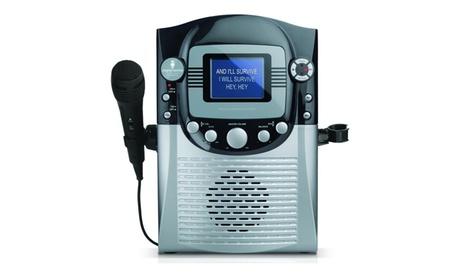"The Singing Machine STVG359 CDG Karaoke System with 3.5"" Monitor - Refurbished cee2c4a0-b9db-4544-8739-b7a354e4197a"