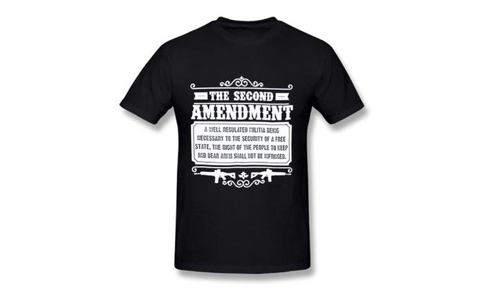 43576ed61 Gun Rights 2nd Amendment Tactical Gear Funny Shirts Gift Mens T ...