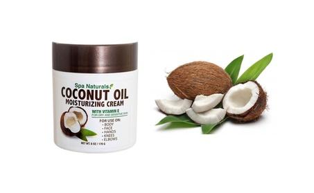 Spa Naturals Coconut Oil Moisturizing Cream Skin Care