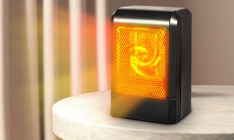 iMounTEK 500 Watt Energy Efficent Mini Portable Electric Ceramic Fan Heater