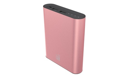 Dual USB Portable Power Bank Battery