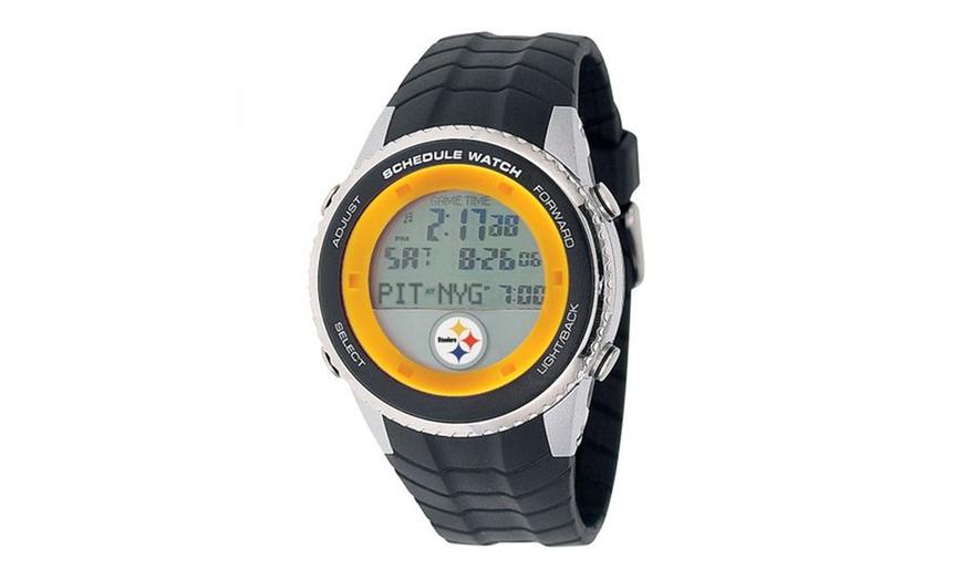 Steelers digital clock