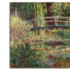 Claude Monet 'Waterlily Pond Pink Harmony 1900' Canvas Rolled Art