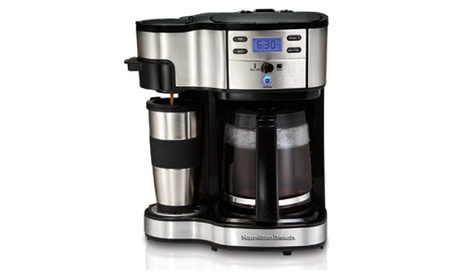 Two Way Brewer Single Serve And 12 Cup Coffee Maker 6910f2aa-ada5-4aa9-bada-af0a0264f3cb