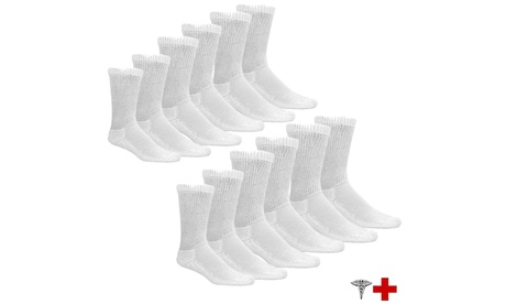 6-Pairs Physician Approved Therapeutic Diabetic Socks