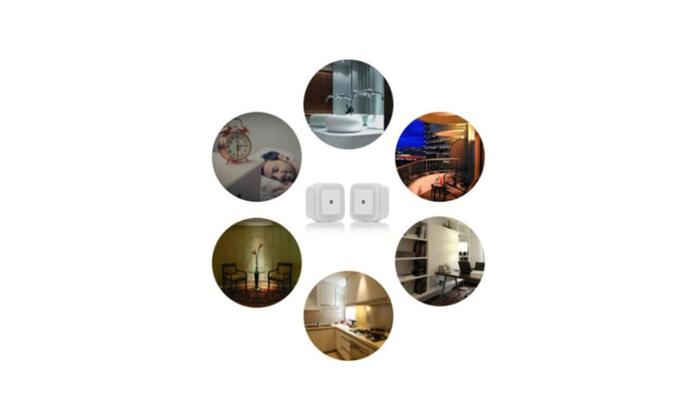 New Night Lights Auto Led Light Induction Sensor Control Bedroom