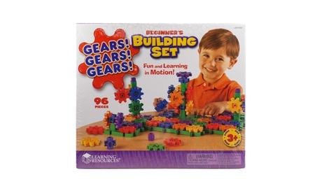 Gears! Gears! Gears! - Beginner Building Set: 96 Pcs 1ba1dfef-6725-46e7-8494-ee7f0d5c2afb