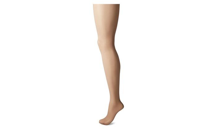 b818b274c Leggs Hosiery Nude Control Top Silken Mist Pantyhose - Size B