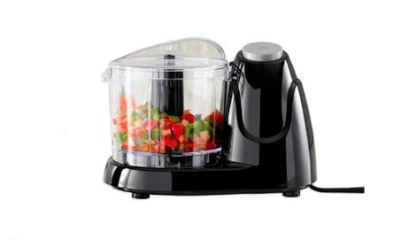 Black 1.5-Cup Electric Food Chopper 94213412-a126-434b-9c15-714665c48f1c
