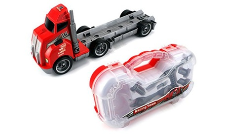 Tool Master Build a Big Rig Children's Toy Semi Truck Vehicle Playset 291da8cb-1939-41aa-8a09-9ccb5963d765