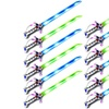 Set of 12 VT Astro Pirate Flashing LED Light Up & Sound Toy Light Sword Sabers