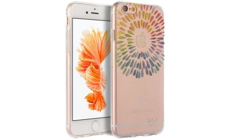 Insten TPU Water Color Imd Ultra Thin Rubber Gel Case For iPhone 6s...