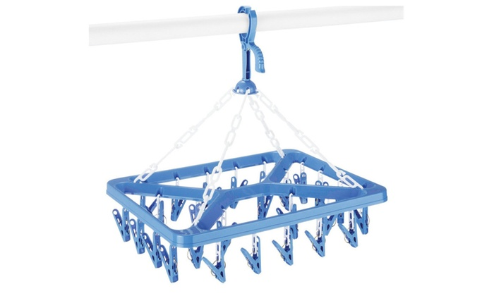 Clip and Drip Hanger w/ 26 Clips