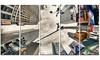 Skyscrapers Dominate New York - Cityscape Digital Art Metal Wall Art
